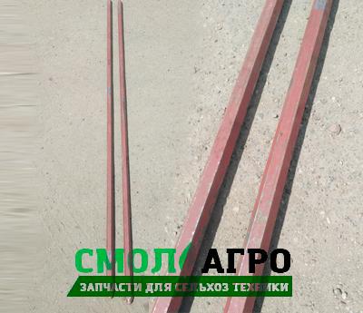 Вал РУ 02.00.601 для рассеивателя минеральных удобрений РУ-1600