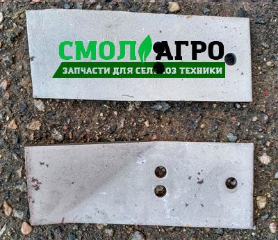 Перо отвала ПЛП 01-009 для плуга МЗШ