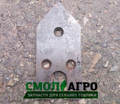 Лемех средний КНТ 30.432 для Картофелекопателя КТН-2В / КСТ-1,4