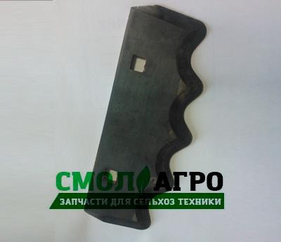 Нож основной 002.0029 для кормораздатчика ИСРК-12 (Хозяин)